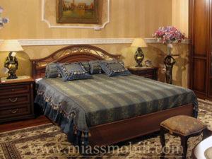 Двуспальная кровать 1600х2000, вариант №1 без ножной спинки