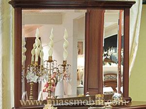 Зеркало в раме к комоду орех в Миассе