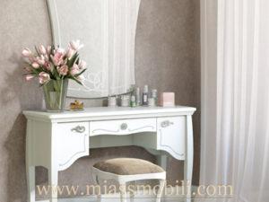 Стол туалетный Viola белая в Миассе
