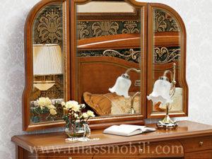 Зеркало для стола туалетного орех в Миассе