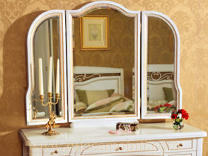 Зеркало для стола туалетного  белая в Миассе