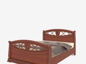 Кровать  с высоким изножьем (Сп В-8-5 Н)