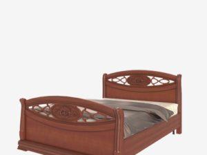 Кровать с высоким изножьем (Сп В-8-7 Л)