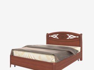 Кровать с низким изножьем (Сп В-8-7 ЛЭ)