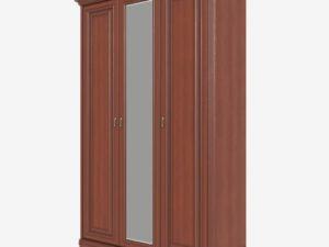 Шкаф для одежды 3-дверный, 1 зеркало плательный (Сп В-8-2)